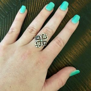 Adorned Hearts James Avery Ring
